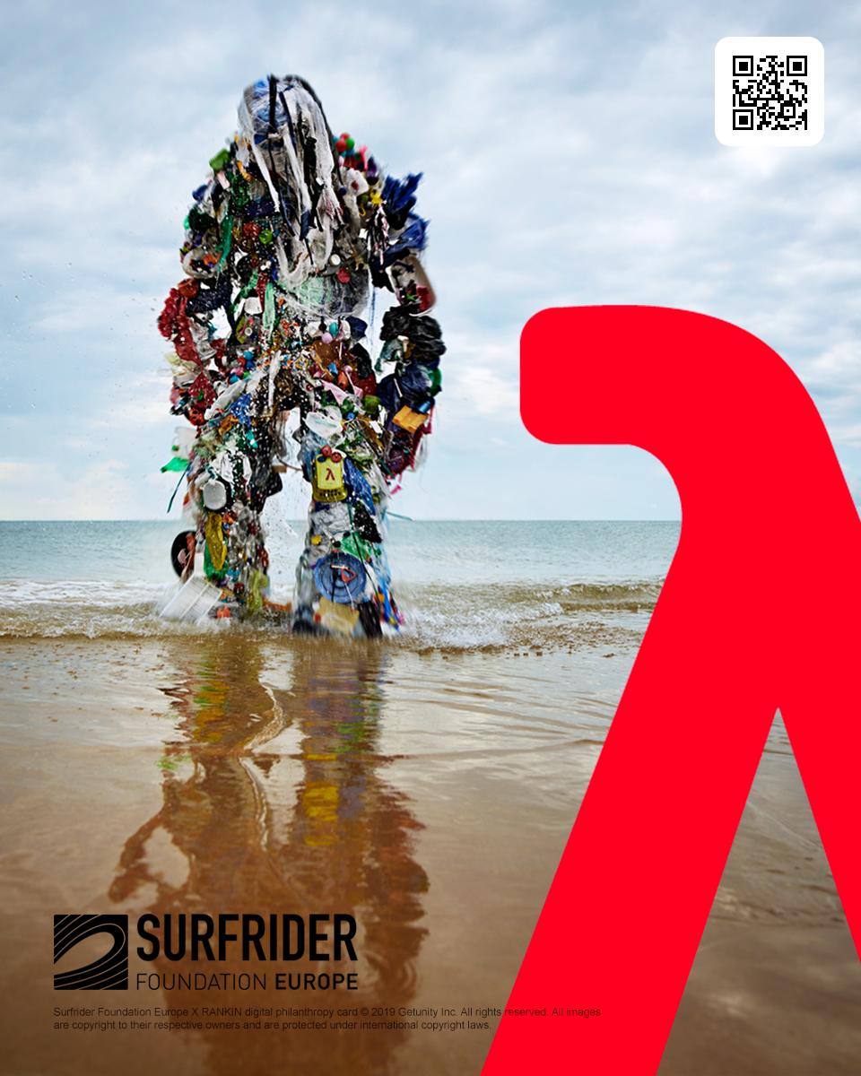 Surfrider Foundation X RANKIN digital philanthropy card